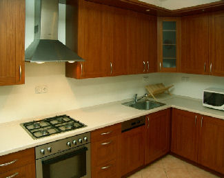 Our Prague family holiday accommodation comes with kitchen facilities
